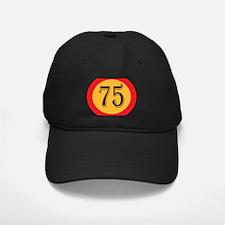 Number 75 Baseball Cap