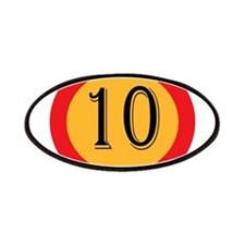 Number 10 Patch
