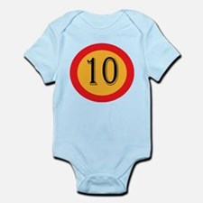 Number 10 Body Suit