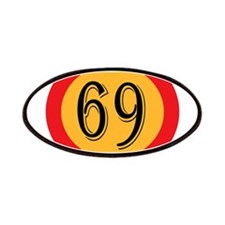 Number 69 Patch
