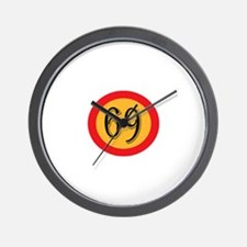 Number 69 Wall Clock