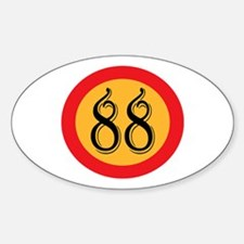 Number 88 Decal