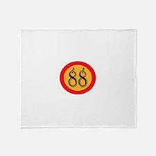 Number 88 Throw Blanket