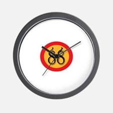 Number 88 Wall Clock