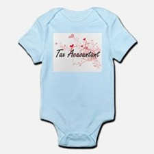 Tax Accountant Artistic Job Design with Body Suit