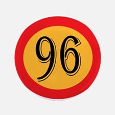 Number 96 Button