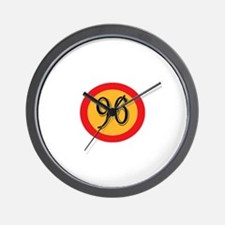 Number 96 Wall Clock