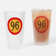 Number 96 Drinking Glass