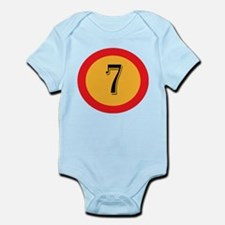 Number 7 Body Suit