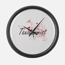 Taxidermist Artistic Job Design w Large Wall Clock