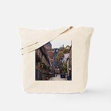 Rue Sous Le Fort Tote Bag