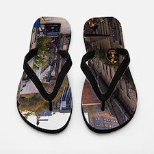 Rue Sous Le Fort Flip Flops