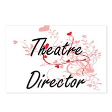 Theatre Director Artistic Postcards (Package of 8)