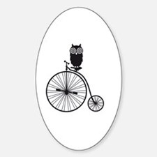 Cute Retro owl art Decal