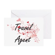 Unique Travel agency Greeting Card