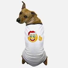 santa claus emoji Dog T-Shirt