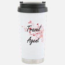 Travel Agent Artistic J Travel Mug