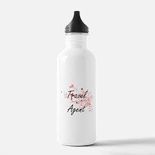 Travel Agent Artistic Water Bottle
