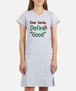 Funny Merry christmas Women's Nightshirt