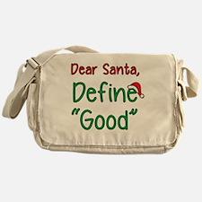 Cute Merry christmas Messenger Bag