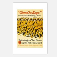 National Guard Come On Bo Postcards (Package of 8)