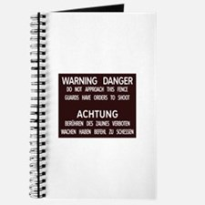 Warning Danger Achtung, Cold War Berlin Journal