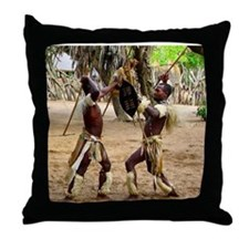 Zulu- out of Africa- Throw Pillow