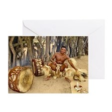 Zulu- out of Africa- Greeting Card
