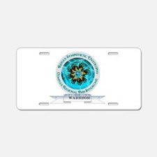 CRPS RSD Warrior Starburst Aluminum License Plate
