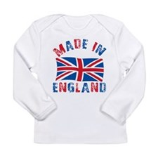 Funny England uk Long Sleeve Infant T-Shirt