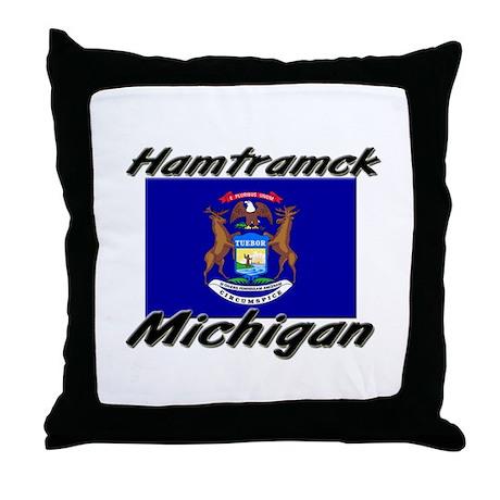 Hamtramck Michigan Throw Pillow