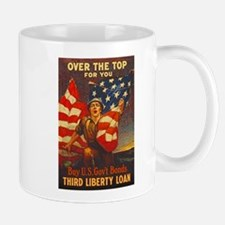 US War Bonds Top Third Liberty Loan WWI Mug