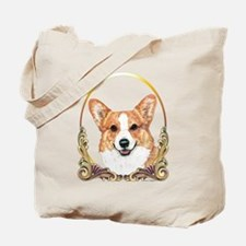 Pembroke Welsh Corgi Holiday Tote Bag