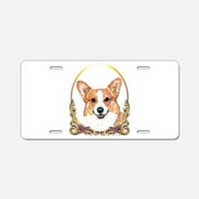 Pembroke Welsh Corgi Holida Aluminum License Plate