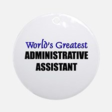 Worlds Greatest ACUPUNCTURIST Ornament (Round)