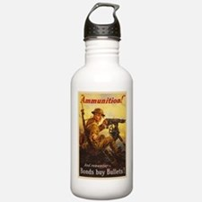 US War Bonds Ammunitio Water Bottle