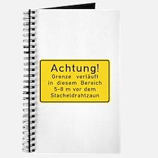 Achtung! Grenze verläuft, Cold War Berlin Journa