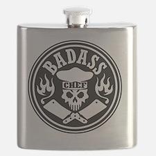 Badass Chef Black Flask