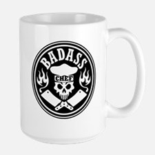 Badass Chef Black Mugs