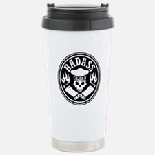 Badass Chef Black Travel Mug