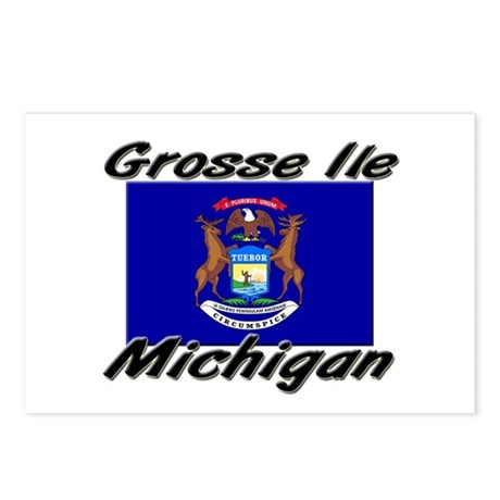 Grosse Ile Michigan Postcards (Package of 8)