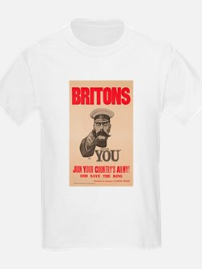 Britons Lord Kitchener Wants Yo T-Shirt