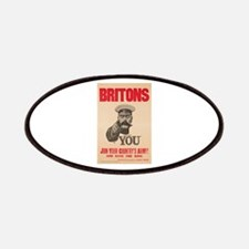 Britons Lord Kitchener Wants You WWI Propaga Patch