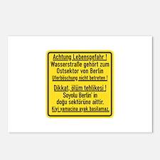 Achtung Lebensgefahr!, Cold War Berlin Postcards