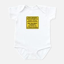 Achtung Lebensgefahr!, Cold War Berlin Infant Bod