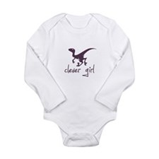 Funny Fossil. fossils Long Sleeve Infant Bodysuit