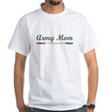 Army Mom:Strong Courageous Pr Shirt