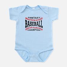 Fantasy Baseball Champion Baseball Laces Body Suit
