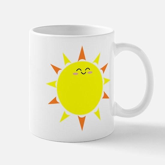 Sunshine Morning Happy Kawaii Sun Mugs