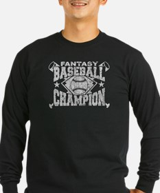 Fantasy Baseball Champion Long Sleeve T-Shirt